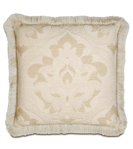 Image of Brookfield Pillow with Brush Fringe