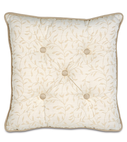 Eastern Accents - Hayes Blossom Tufted Pillow - BKF-09