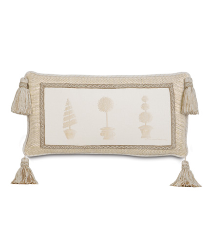Eastern Accents - Hand-Painted Brookfield Topiary Pillow - BKF-12