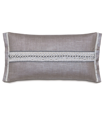 Eastern Accents - Reflection Taupe Bolster - BOL-380