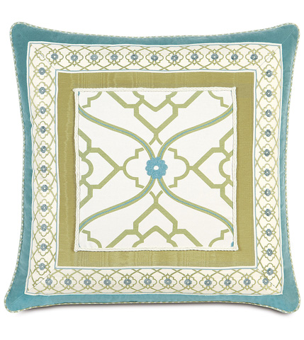 Image of Bradshaw Border Collage Pillow