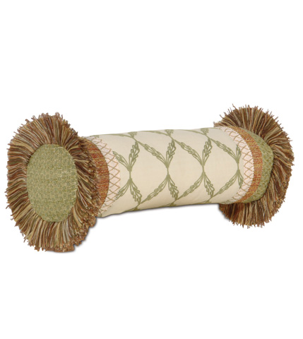 Image of Bartow Palm Insert Neckroll Pillow
