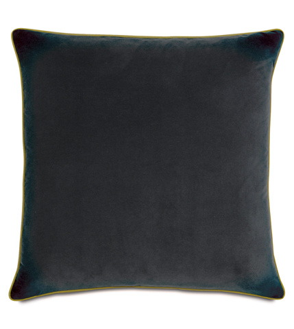 Image of Jackson Charcoal Pillow with Small Welt