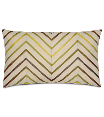 Image of Austin Citron Diagonal Inserts Pillow