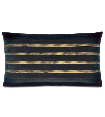 Image of Jackson Charcoal  Pillow with Pleats