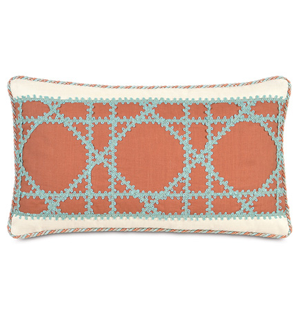 Image of Breeze Tangerine Insert Pillow