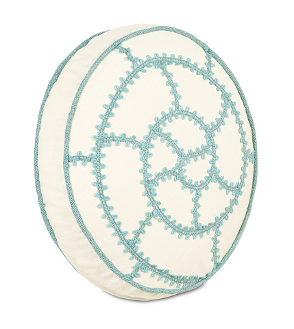Eastern Accents - Folly Parchment Tambourine Pillow - CAP-10