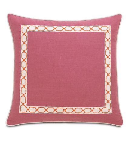 Image of Breeze Bloom Extra Sham with Border