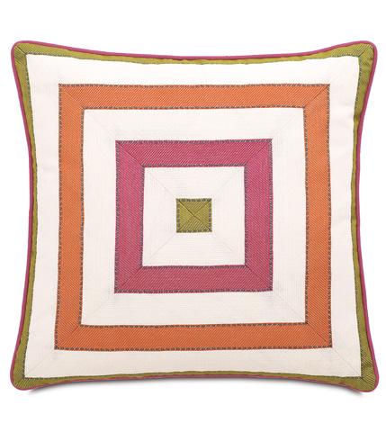Image of Susan Spring Mitered Pillow