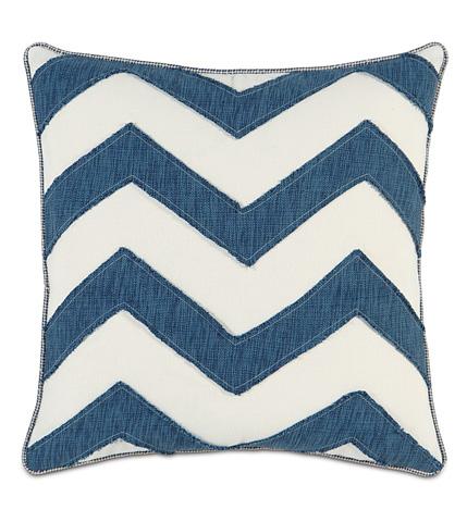 Image of Garrison Storm Chevron Pillow
