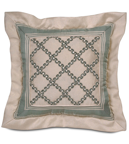 Eastern Accents - Witcoff Ivory Mitered Pillow - CRL-02