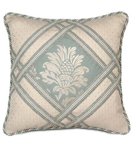 Image of Carlyle Diamond Insert Pillow