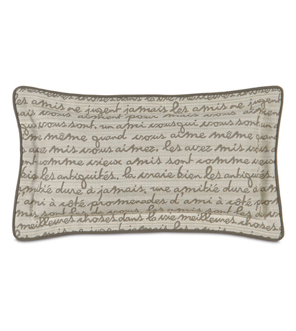 Image of Grenoble Smoke Pillow with Self Flange