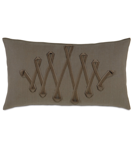 Image of Breeze Clay Pillow with Ribbon