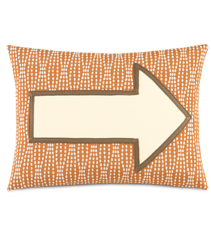 Image of Adler Natural Arrow Pillow