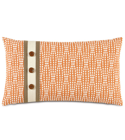 Image of Holmes Mandarin Pillow With Insert