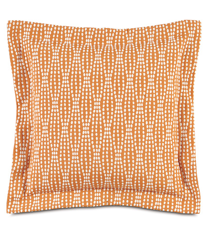 Image of Holmes Mandarin Pillow With Flange