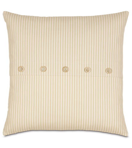 Image of Heirloom Vanilla Knife Edge Pillow