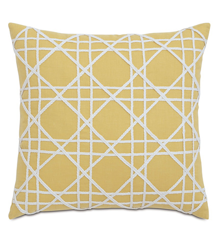 Image of Mistral Sunshine Pillow with Caning
