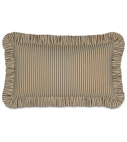 Image of Heirloom Pepper Pillow with Ruffle