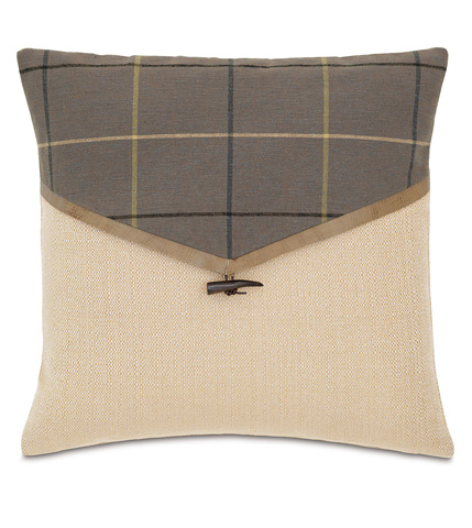 Image of Donoghue Slate Envelope Pillow