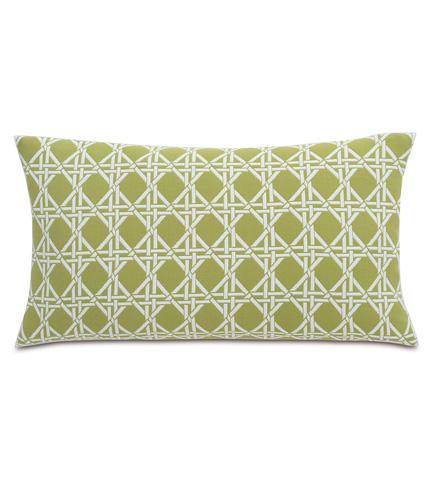 Image of Larkin Palm Knife Edge Pillow