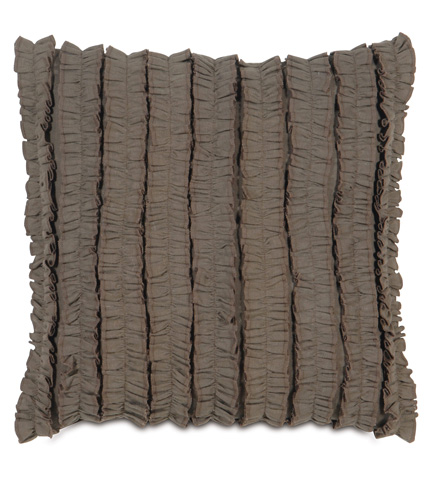 Image of Breeze Clay Pillow with Ruffles