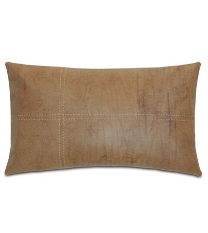 Image of Dorian Saddle Pillow with Tailors Tack