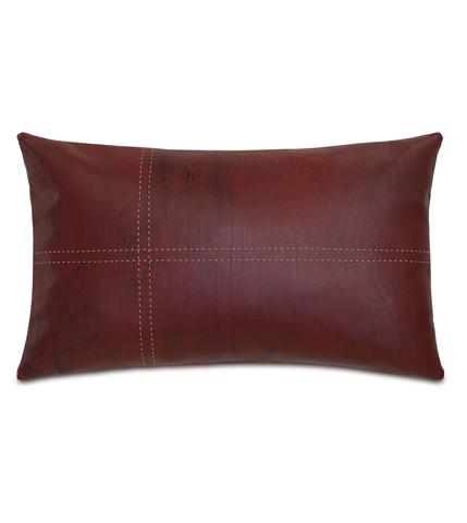 Image of Dorian Brick Pillow with Tailors Tack