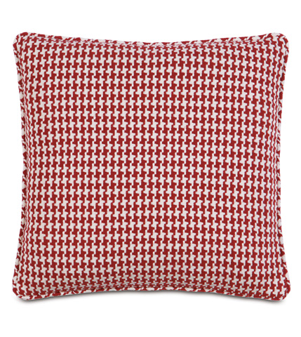 Image of Bowline Rouge Pillow with Small Welt