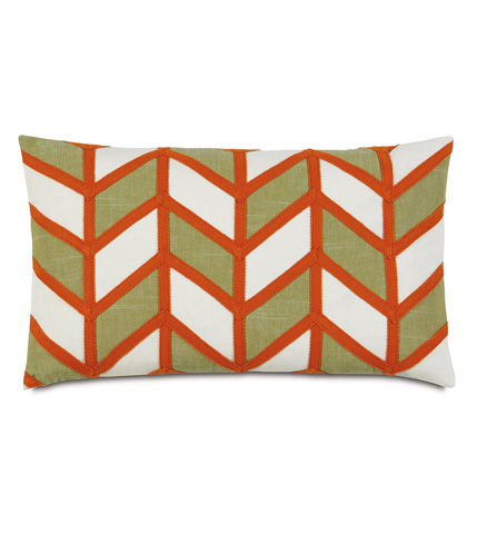 Image of Broken Chevron Shore Pillow