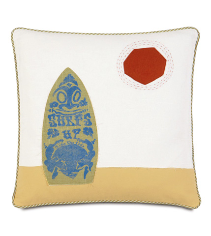 Eastern Accents - Surf's Up Pillow - ESH-04