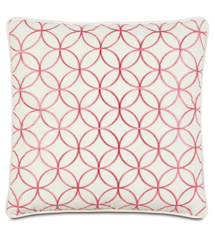 Image of Sweeney Blossom Pillow with Small Welt