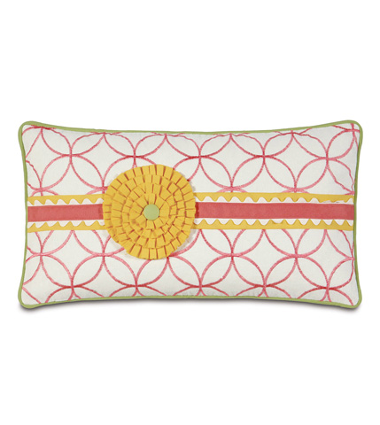 Eastern Accents - Sweeney Blossom Pillow with Rosette - ESP-11
