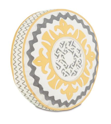 Image of Suzani Sunshine Tambourine Pillow