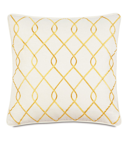 Image of Terrace Canary Pillow with Small Welt