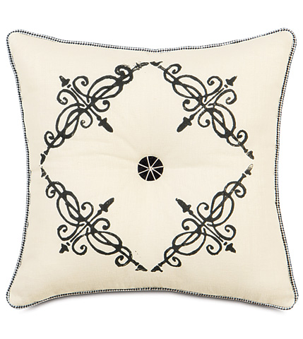 Eastern Accents - Breeze Pearl Tufted Pillow - EVY-02