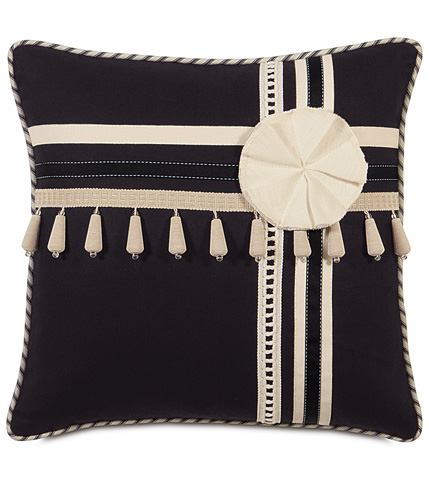 Image of Fullerton Ink Pillow with Trims