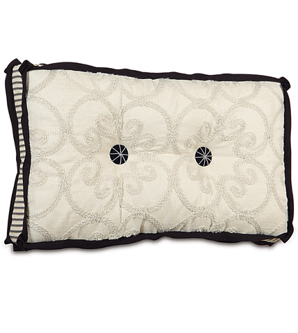 Image of Desiree Pearl Tufted Pillow