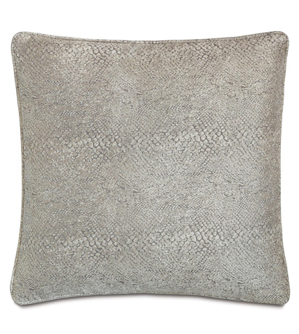 Eastern Accents - Ezra Smoke Pillow with Small Welt - EZR-04