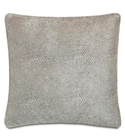 Image of Ezra Smoke Pillow with Small Welt
