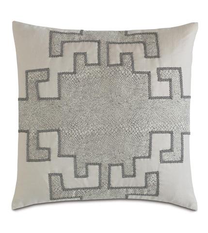 Eastern Accents - Ezra Smoke Graphic Design Pillow - EZR-05