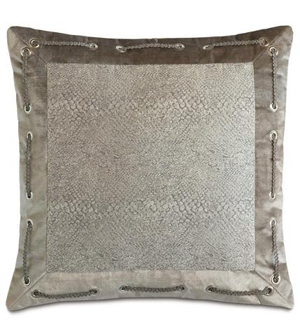 Image of Ezra Smoke Mitered Pillow