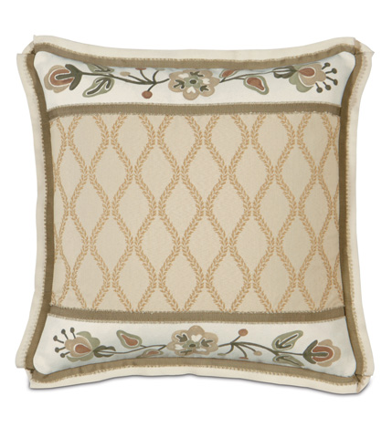 Eastern Accents - Griffin Pillow with Hand-Painted Inserts - GLG-10