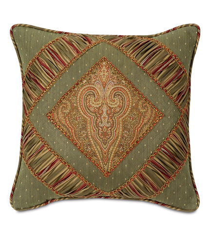 Image of Glenwood Diamond Collage Pillow