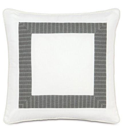 Image of Baldwin White Border Collage Pillow