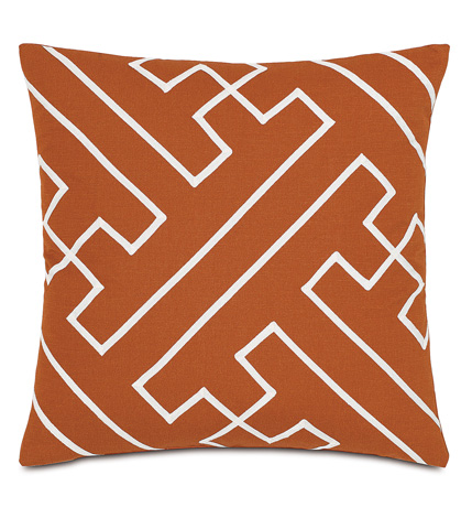 Image of Mack Sunset Pillow with Gimp Design