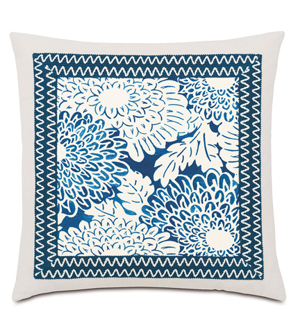 Eastern Accents - Indira Ink Pillow with Mitered Border - IND-09