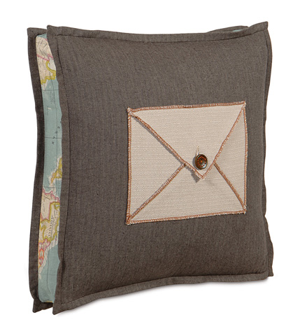 Eastern Accents - Vivo Bisque Envelope Boxed Pillow - KAI-04
