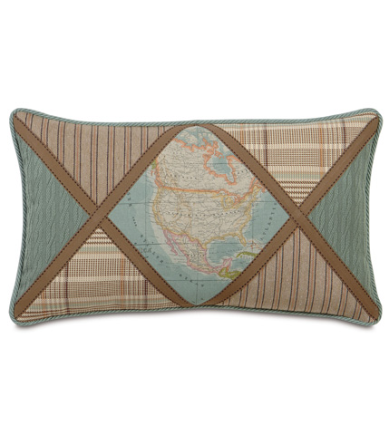 Image of Monde Ocean Diamond Insert Pillow